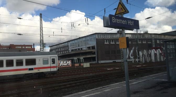 Mit dem ICE von Düsseldorf nach Berlin (über Bremen)